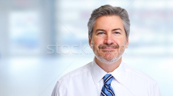 Businessman portrait Stock photo © Kurhan
