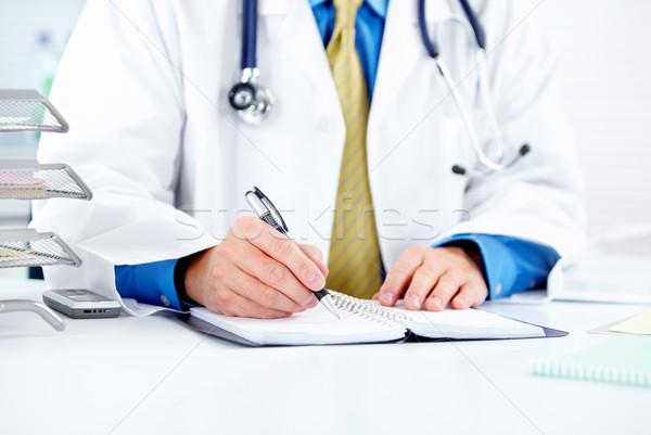 Médico médico hospital negócio homem Foto stock © Kurhan