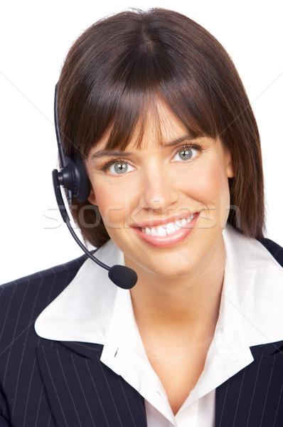 Customer service operator Stock photo © Kurhan