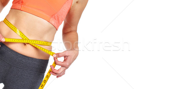женщину тело диета спорт Сток-фото © Kurhan
