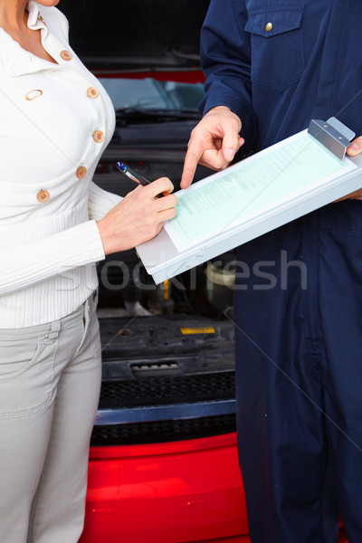 Auto shop Stock photo © Kurhan