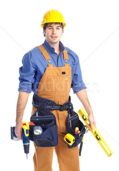 contractor Stock photo © Kurhan