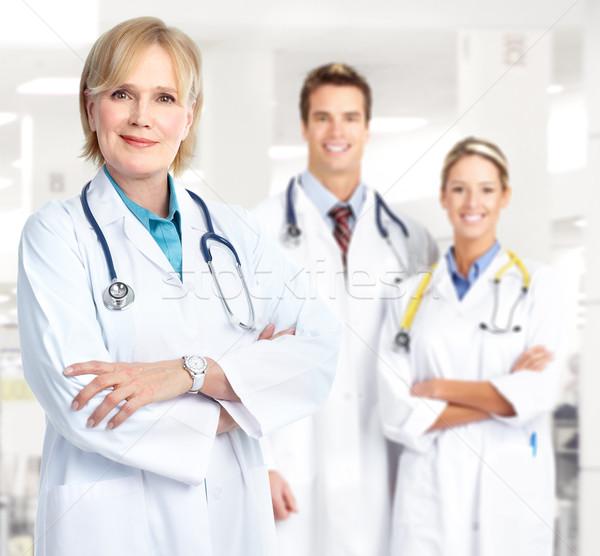 医師 医療 作業 オフィス ビジネス 医師 ストックフォト © Kurhan