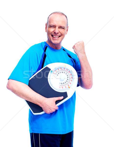 Fitness man. Stock photo © Kurhan