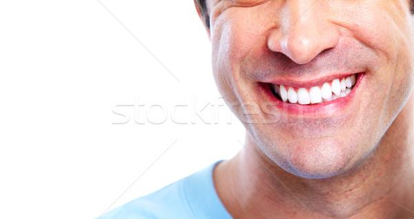 Smiling man. Stock photo © Kurhan
