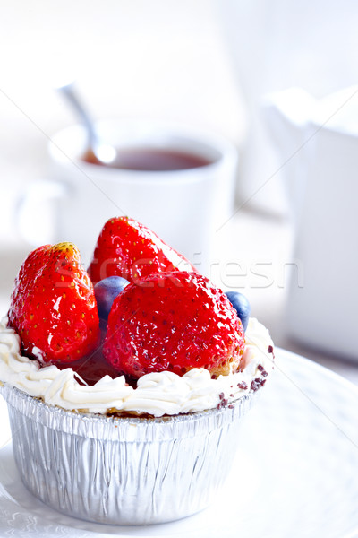 Sweet fruit cake  Stock photo © Kurhan