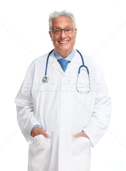 Senior Doctor Stock photo © Kurhan