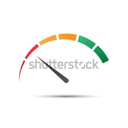 простой цвета красный спидометр исполнении измерение Сток-фото © kurkalukas