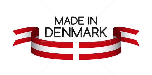 Színes szalag színek szimbólum zászló izolált Stock fotó © kurkalukas