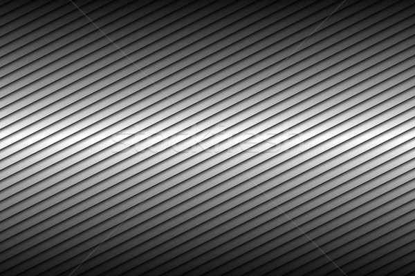 Negro plata resumen diagonal líneas vector Foto stock © kurkalukas