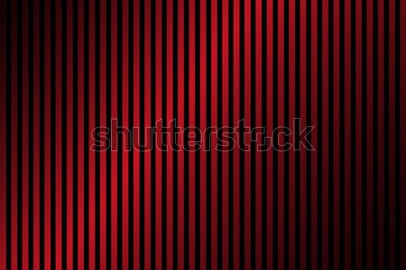 Red and black lines abstract background with dark gradient, simp Stock photo © kurkalukas