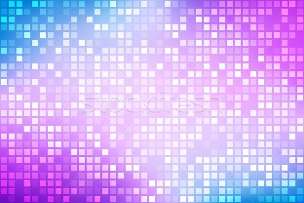 Abstract heldere regenboog paars Blauw helling Stockfoto © kurkalukas