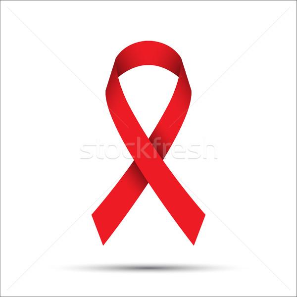 Isolado branco sida consciência ícone Foto stock © kurkalukas