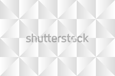 Abstract white minimalistic pattern, geometric grayscale triangles, simple vector background Stock photo © kurkalukas