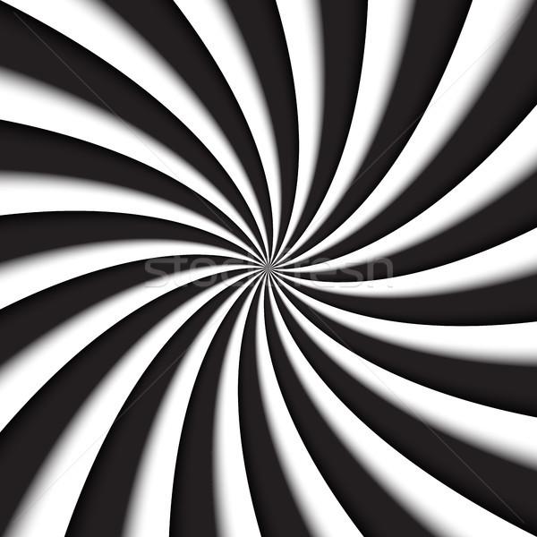 темно-серый белый современных Swirl аннотация вектора Сток-фото © kurkalukas