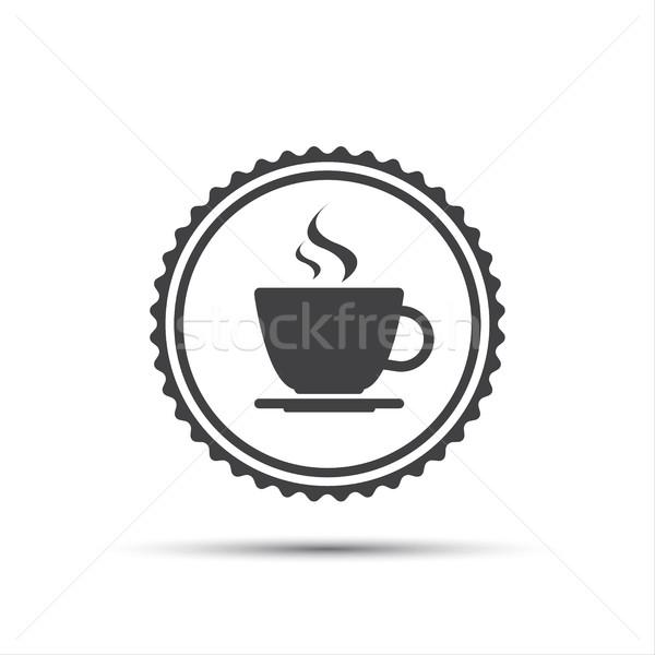 · De Vecteur Tasse Icône Café Simple WEIDHY92