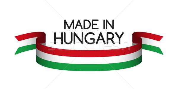 Renkli şerit üç renkli simge bayrak Stok fotoğraf © kurkalukas
