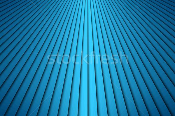 Absztrakt kék átló csíkok modern vonalak Stock fotó © kurkalukas