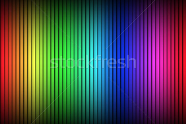 Abstract vector background, modern bright background with vertical lines, color spectrum Stock photo © kurkalukas
