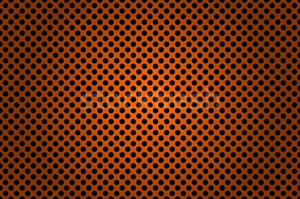 Negro naranja metálico resumen diseno fondo Foto stock © kurkalukas