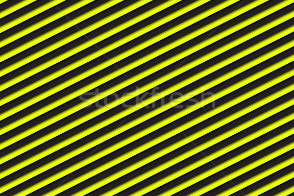 Fekete citromsárga absztrakt technológia fém művészet Stock fotó © kurkalukas