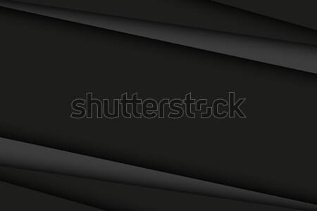 Photo stock: Résumé · noir · gris · foncé · diagonal · lignes · vecteur