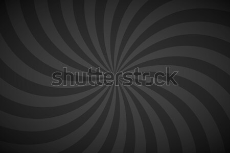 Decorative retro blue and grey spiral background, swirling radial pattern, abstract vector illustrat Stock photo © kurkalukas