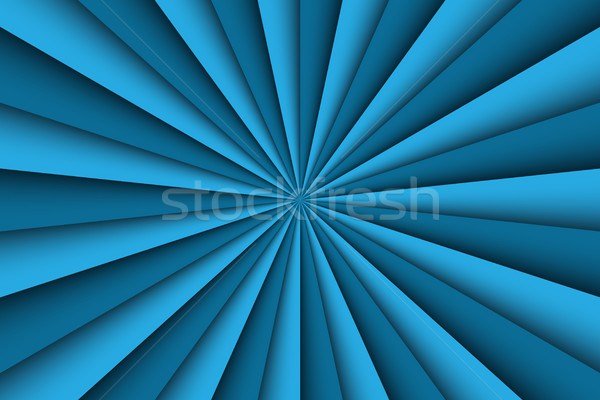 Blue abstract background, two shades of blue lines, vector illus Stock photo © kurkalukas