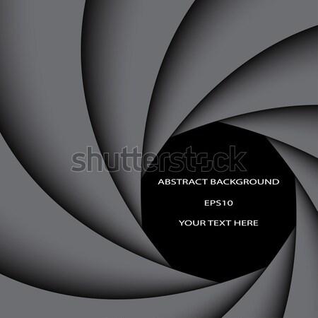 Dark Grey Rainbow Swirl Abstract Color Background Vector