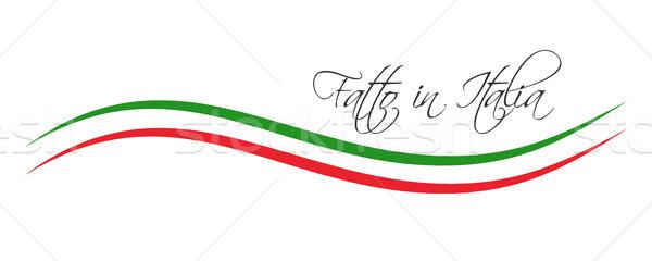 Италия итальянский язык символ Сток-фото © kurkalukas