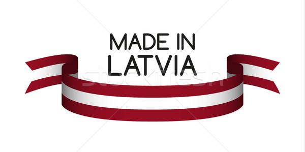 Gekleurd lint kleuren symbool vlag geïsoleerd Stockfoto © kurkalukas