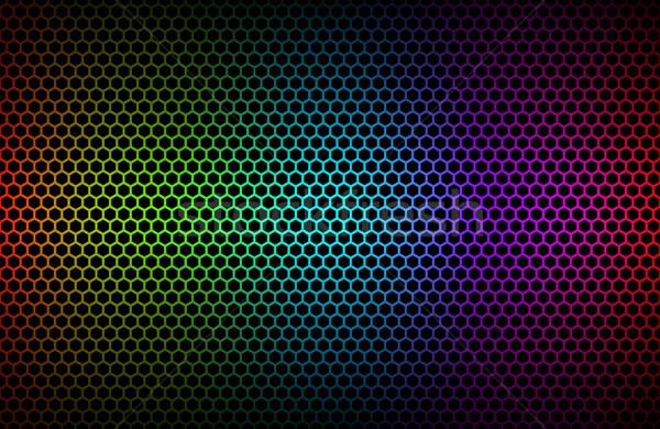 красочный геометрический аннотация металлический обои медицинской Сток-фото © kurkalukas