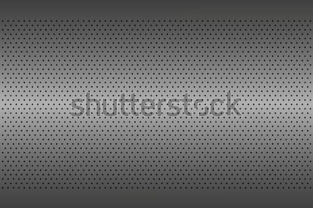 Perforated metal texture, aluminium grating, abstract background Stock photo © kurkalukas
