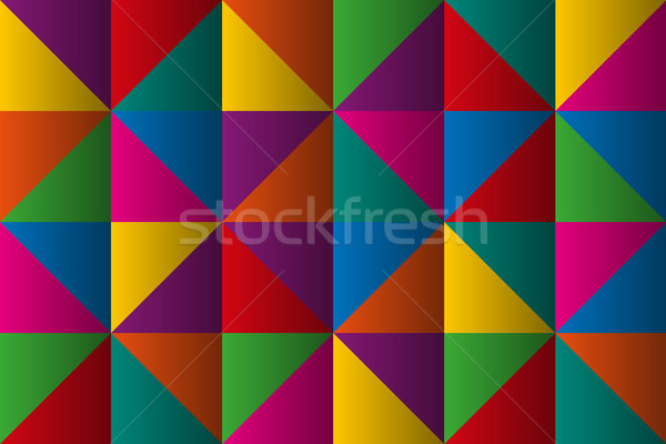 Vector triangles with color gradient, anstract colorful geometric triangular background Stock photo © kurkalukas