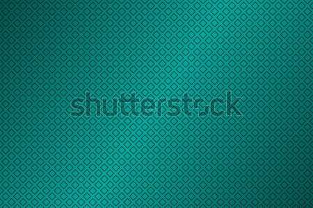 Green abstract background with outline of squares, simple vector illustration Stock photo © kurkalukas