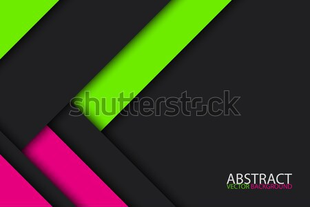 Nero verde rosa moderno materiale design Foto d'archivio © kurkalukas