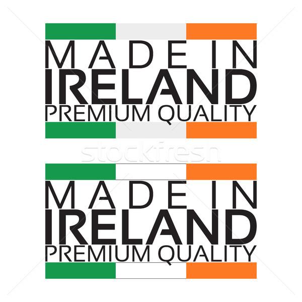 アイルランド アイコン プレミアム 品質 ステッカー アイルランド ストックフォト © kurkalukas