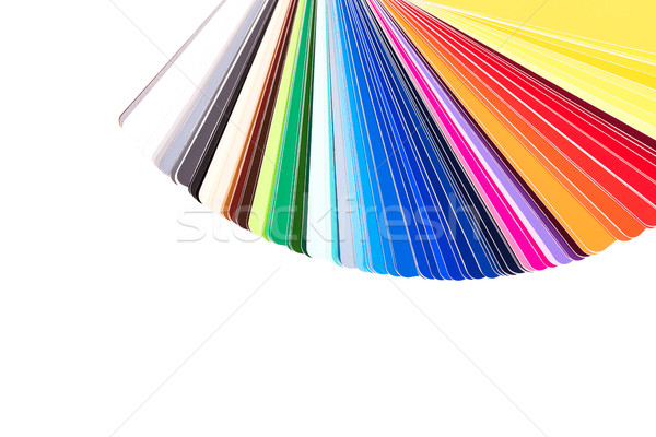 Couleur palette guider peinture catalogue Photo stock © kurkalukas