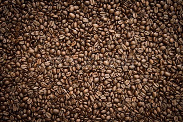 Fresh roasted coffee beans background Stock photo © kurkalukas