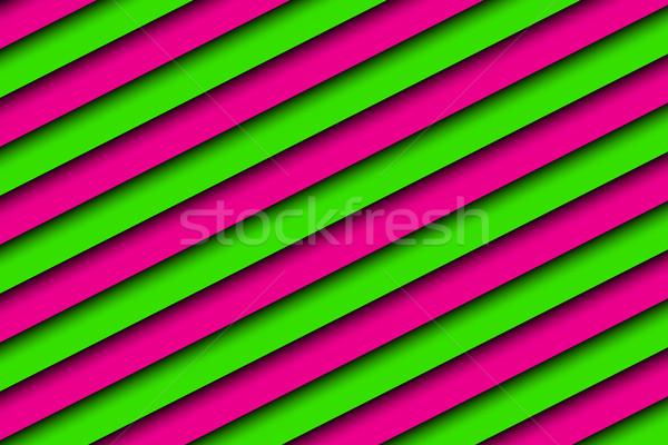 Rosa verde resumen diagonal negocios Foto stock © kurkalukas