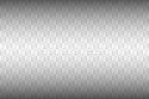 Abstract white minimalistic background with shadows, geometric grayscale triangles, simple vector pa Stock photo © kurkalukas