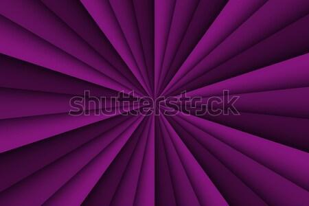 Photo stock: Vecteur · pourpre · résumé · trois · lignes · papier