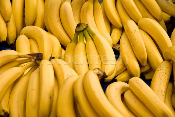 Köteg érett banán utca piac Isztambul Stock fotó © Kuzeytac