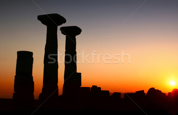 Temple Of Athena / ASSOS – Turkey Stock photo © Kuzeytac