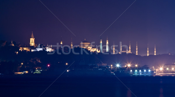 A Different Silhouette of Istanbul Stock photo © Kuzeytac