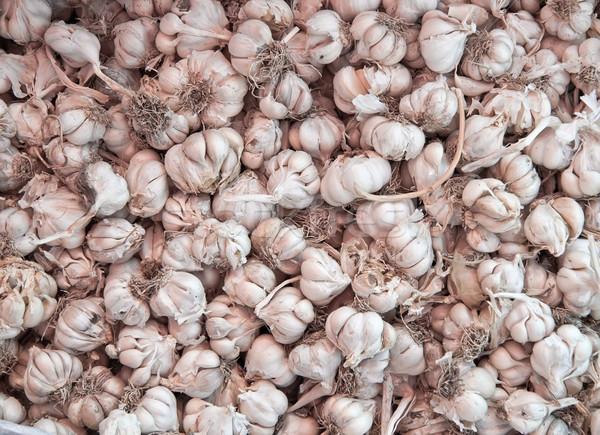 Stock photo: Dry Organic Garlics