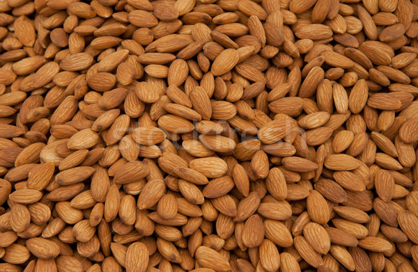 Whole Almonds as Background Stock photo © Kuzeytac
