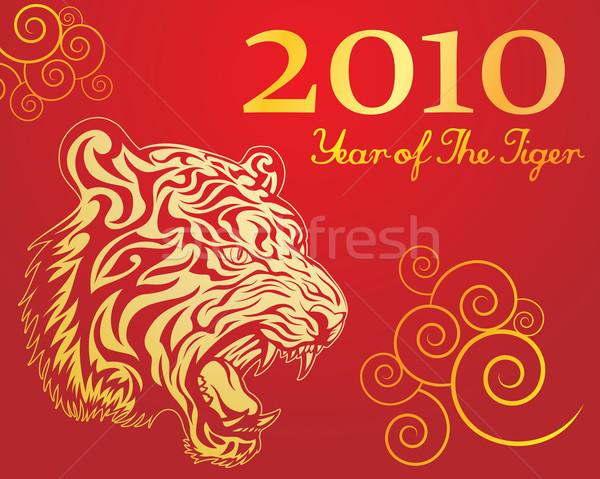 Year of The Tiger 3 Stock photo © kuzzie