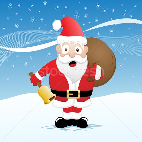 Funny Santa Stock photo © kuzzie
