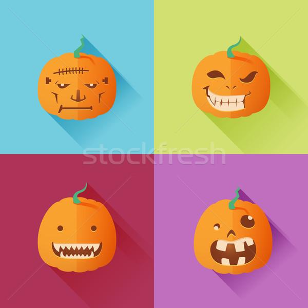 Halloween Pumpkin 1 Stock photo © kuzzie